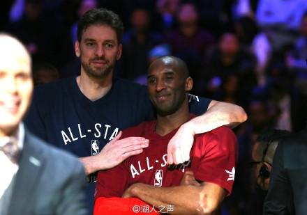 永远的兄弟-科比家嫂 NBA最浓CP情 这些镜头打动你了吗