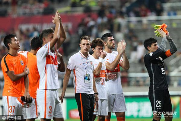 鲁能远7年亚冠遇韩不堪3平9背 客场便从出赢过