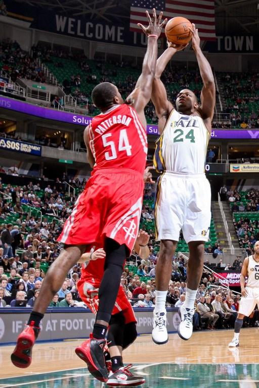 2013年1月29日,NBA常规赛,火箭VS爵士.-狂胜45分 火箭客场屠爵图片