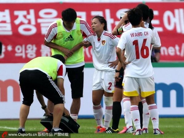 刘爱玲:传球不到位技术糙 依靠意志品质拼得胜