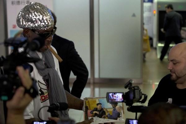 罗德曼将v视频朝鲜国家队视频计划为金正恩庆龙舟节大虫图片
