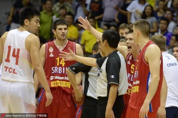 中国男篮打架比打球厉害 总靠裁判何时才能出