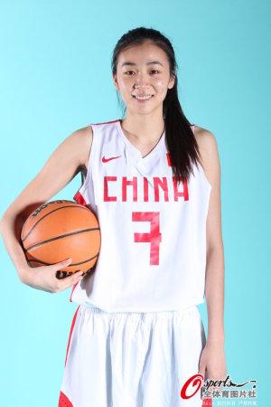 2013年中国女篮拍摄官方写真