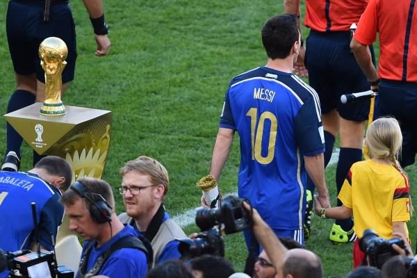小马哥:梅西绝对忠诚于阿根廷 缺战德国不为留
