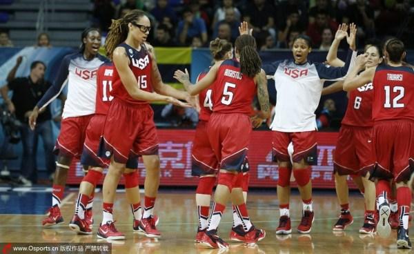 美国女篮获金牌