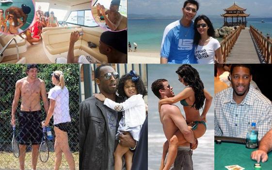 7月20日,姚明在新闻发布会上。当日,NBA休斯敦火箭队球员姚明在上海召开新闻发布会,宣布正式退役。 新华社记者凡军摄