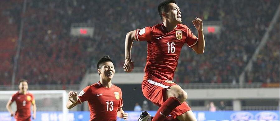 中国足球的2016