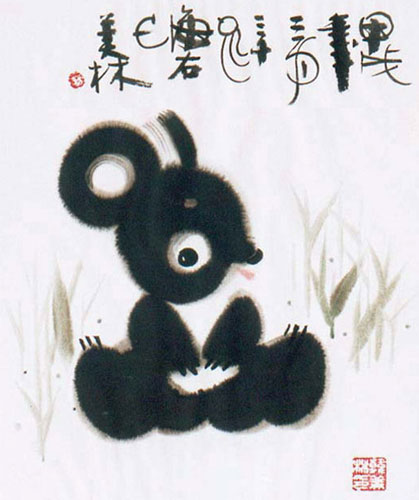"""这位2008年北京奥运的吉祥物五子""""福娃""""之父真比我们更有疼爱呵护动物"""