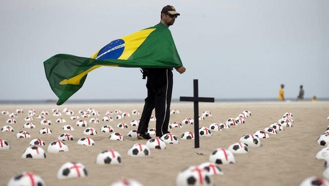 巴西抵制世界杯歌曲火爆网络 巴萨巨星躺枪_综
