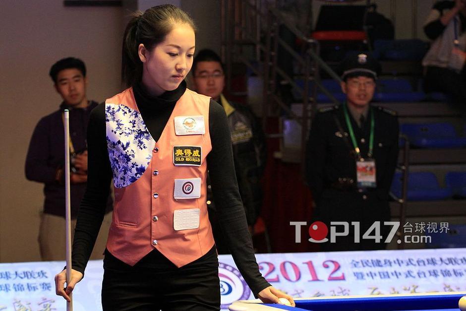 诸瑛告别中式台球锦标赛