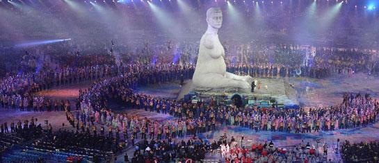 伦敦残奥会开幕式举行 霍金亮相