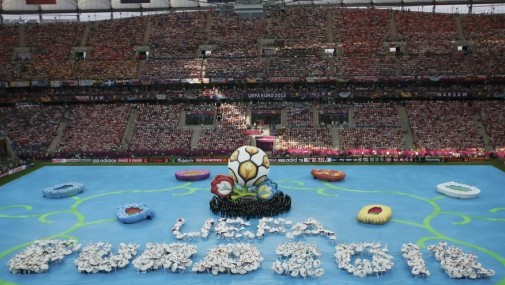 2012年欧洲杯开幕式表演
