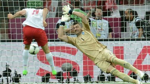 欧洲杯揭幕战:波兰1-1希腊