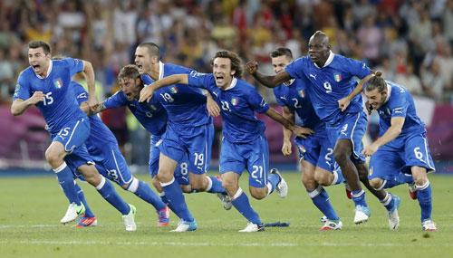 欧洲杯:意大利点球大战4-2英格兰 进4强战德国