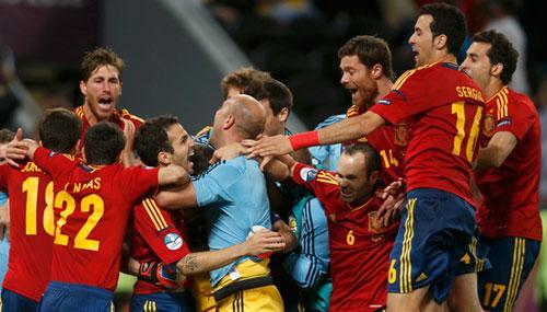 西班牙点球战淘汰葡萄牙 率先进决赛