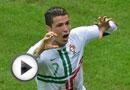 C罗绝杀葡萄牙1-0捷克