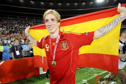 手绘西班牙国旗